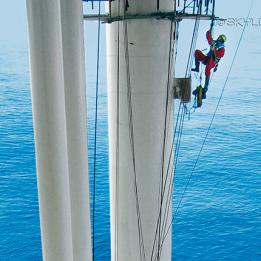 Absturzsicherung: SKYLOTEC präsentiert Komplettlösungen für die Windenergie