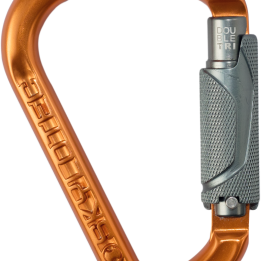 NEW: DOUBLE carabiner series facilitates left-handed and right-handed working
