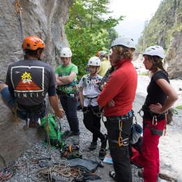 Kostenlose SAAC Climbing Camps im Climbers Paradise