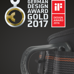 SKYLOTEC Ignite Series of harnesses wins German Design Award