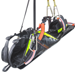 CONREST — advanced rescue stretcher for fast transport of injured persons in confined spaces