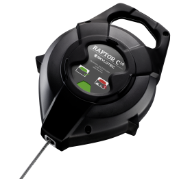 RAPTOR – the first fall arrester device with two fall indicators