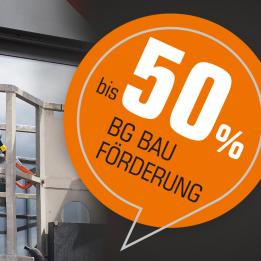 Jetzt mit SKYLOTEC-Produkten Arbeitsschutzprämien der BG BAU sichern