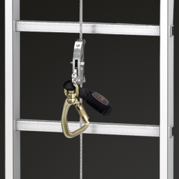 SKYLOTEC introduces its new Claw Line fall-arrest system for steel cables