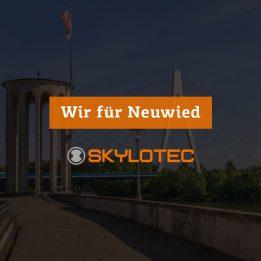 Auszubildende bei SKYLOTEC unterstützen Neuwieder Unternehmen und Restaurants
